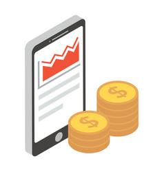 Online earnings vector