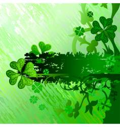 st Patrick design vector image