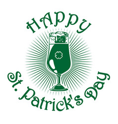 St patricks day celebration symbol vector