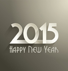 typography new year background 2811 vector image