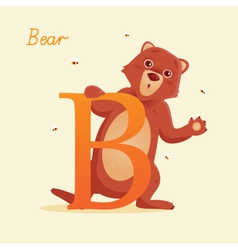 B for Bear vector