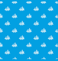 Balloon pattern seamless blue vector