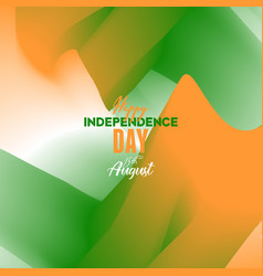 Creative indian independence day concept eps 10 vector