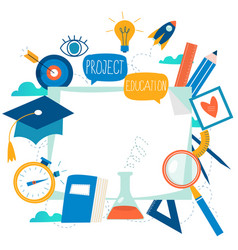 education online training courses vector image