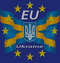 Europe Corporation Logo Symbol Tourism Ukraine Ban vector