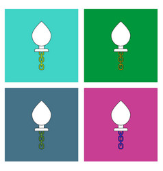 Flat icon design collection sex toy vector