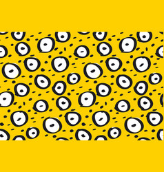 fun contrast simple dynamic seamless pattern vector image