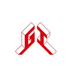 Gi - international 2-letter code or national vector