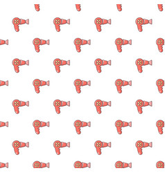 Hairdryer pattern seamless vector
