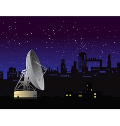 Satellite dish 2 vector