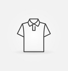 t-shirt clothes icon or sign vector image
