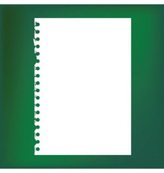 Blank pages vector image vector image