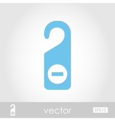 Do Not Disturb icon vector image