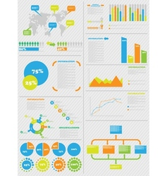 INFOGRAPHIC DEMOGRAPHICS 5 TOY vector image vector image