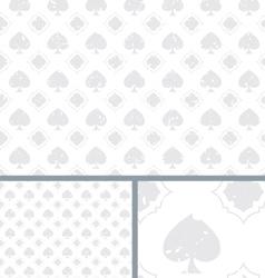 White vintage poker spade distressed background vector