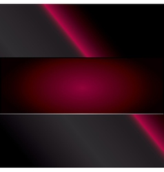 red carbon background vector image