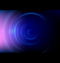 abstract round blue background minimal fluid vector image