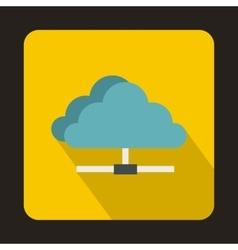 Cloud icon in flat style vector image