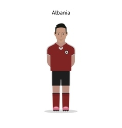 Football kit albania vector