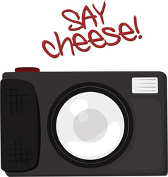 Say Cheese vector