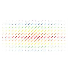 sword spectrum halftone array vector image