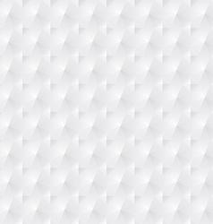 White geometric background vector image