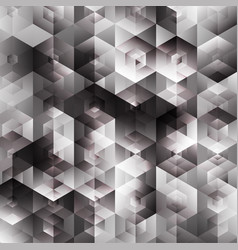abstract boxes background vector image vector image