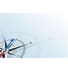compass northeast background vector image vector image