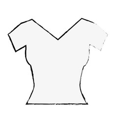 fashion female garment icon vector image vector image