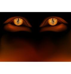 Demon Eyes vector image
