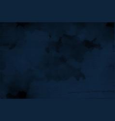 Abstract indigo dark blue grunge textured vector