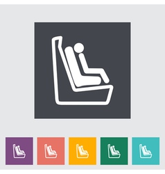 Baby seat 2 vector
