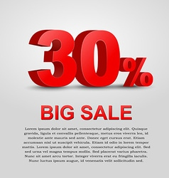 Design a poster for sale vector
