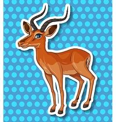 Little deer vector image