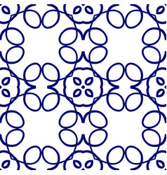 Ornamental seamles pattern vector