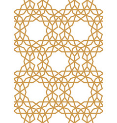 Traditional islamic pattern laser cutting vector