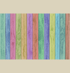 Wooden multicolor panels texture timber vector
