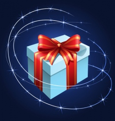 present with bow vector image