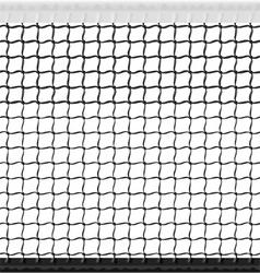 seamless tennis net vector image