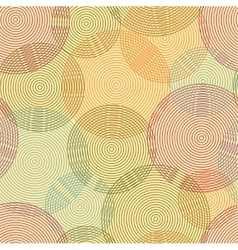 Abstract seamless background of rings vector