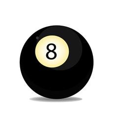 Ball eight vector
