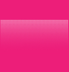 Halftone pink hearts gradient background vector