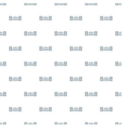 record sound studio pattern seamless vector image