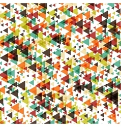 triangle abstract halftone colour vector image