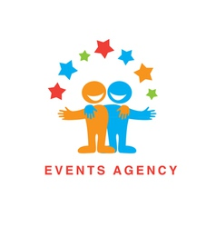 events agency vector image