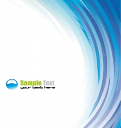abstract background for brochure vector image vector image