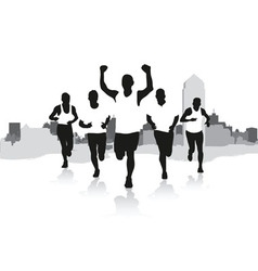 A group runners vector