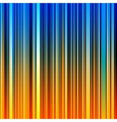 Abstract striped orange and blue background vector image