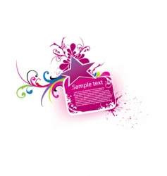 beautiful banner vector image