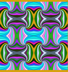 colorful seamless hypnotic abstract spiral ray vector image
